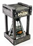 Spirit of Hven, Organic Distilled Gin 0,5l in Echtholzkäfig 40%