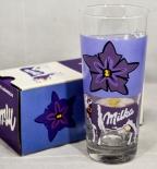 Milka Ritzenhoff Glas / Gläser, Milchglas, Schokolade, Trinkglas 0,2l