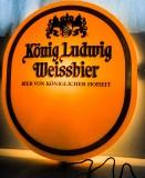 König Ludwig Weissbier, LED Leuchtreklame, Leuchtwerbung für Aussen / Innen