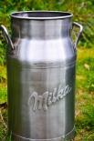 Milka Schokolade Milchkanne Edelstahl 18 Liter