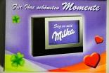 Milka Schokolade Bilderrahmen, Edelstahl, Bilder, Rahmen