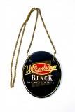 Wilkenburger Bier, Emaile Zapfhahnschild Black mit Kette