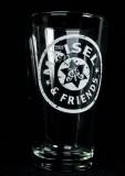 Maisels Weisse Glas / Gläser, Weissbierglas, Willibecher 0,3l Maisel & Friends