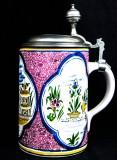König Pilsener, Jahreseditions-Krug, Keramik Krug, Seidel 1993