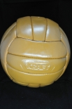 Kraft Retro Lederfußball, Fußball 18 Felder 424g 21cm-wie damals NEUWARE
