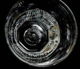 Jameson Whisky, Glas, Tumbler in höchster Reliefabsetzung und Bodenprägung, TOP