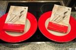 Kraft Miracoli Pasta Set, WMF Besteck Set, rot, Sehr hochwertig-NEU