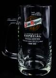 San Miguel Bier, Bierglas, Bierseidel, Bierkrug 50cl Jarras Especial