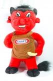 KRAFT Riesen Partyteufel, Roter Teufel 60cm, Kaiserslautern Fans Neuware!!