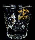 Jack Daniels Whisky, Relief Glas, Tumbler Honey APS 2cl / 4cl