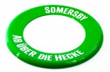 Somersby Cider, Ultra Light Frisbee Scheibe Ab über die Hecke