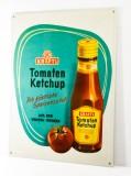 Kraft Tomaten Ketchup, Blechschild, Werbeschild, Reklameschild