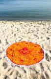 Salitos Bier, Picknikdecke, Stranddecke, Tischdecke aus Frottee Flamingo
