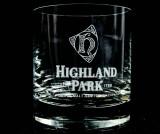 Highland Park Scotch Whisky Glas, Tumbler mit dickem Boden 4cl