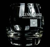 Glenmorangie Scotch Whisky, runder Tumbler mit dicken Boden, Whiskyglas