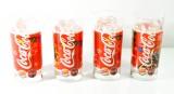 Coca Cola, Burger King Weihnachtseditionsset Longdrinkgläser 0,3l