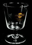 Martini Wermuth, Cupglas, Pokalglas 5cl, ON THE ROCKS sehr seltene Ausführung.