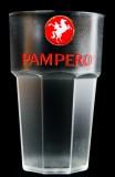 Pampero Rum, Acryl Kunststoffbecher tranparente Ausführung, Glas, Gläser