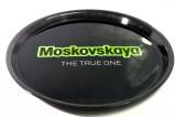 Moskovskaya Vodka, Rundtablett, Serviertablett, Schwarze Ausführung