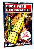 Astra Bier Wand Kalender 2021 wird der Knaller 2021 mit 38 Stickern St Pauli KIEZ Hamburg