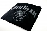 Jim Beam Whisky, Kellnerschürze, Bistroschürze Black Label im Relief, sehr edel
