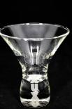 XUXU Erdbeerlikör Glas / Gläser, Cocktailglas, Likörglas, Mit der Perle im Fuß