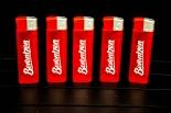 Berentzen Feuerzeug / Feuerzeuge 5 Stück in rot