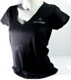 Heineken Bier, T-Shirt, Women, Gr. M, schwarz