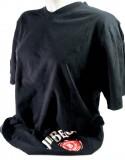 Jim Beam Whisky, T-Shirt, Men, Gr. XL, Full Logo vorne in bunt, schwarz