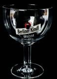 Berliner Kindl, Berliner Weisse, Kelchglas, Schalenglas 0,3l Ritzenhoff Logo rot