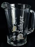 Lübzer Bier, Glaskaraffe, Pitcher, Bierkanne 1,5l Lübzer