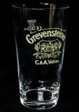 Grevensteiner Bier, Bierglas, Willibecher 0,3l, sehr seltene Ausführung