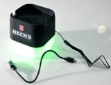 Becks Bier, LED Bluetooth Sound Box, Lautsprecher incl. Handyhalter Akkubasis