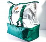 Lübzer Bier, 2 in 1 Kühltasche, Kühlbox und Reisetasche, zwei fächriges System!!