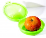 Bauer Fruchtsaft, Buchsteiner Klickbox, Apfelbox, Früchtebox, Vorratsdose, Frischhaltebox BPA frei