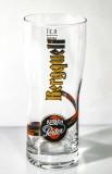Bergquell Kirsch Porter Bier Glas 0,3l, Biergläser, Beerglases