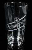 Schweppes Tonic, Longdrinkglas, Cocktailglas, Gläser Logo schräg