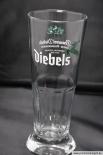 DIEBELS GLAS / GLÄSER, CUP, BIERGLAS, RELIEF, SCHWERE AUSFÜHRUNG 0,3l