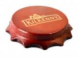 Kilkenny Bier, Echtholz Kronkorken Flaschenöffner, Kapselheber magnetisch