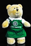 Starbucks Kaffee, Bearista, Teddybär, United Kingdom Service Bear Starbucks Store