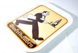 Winkelhausen Weinbrand, Retro Serviertablett, Tablett, Acryl