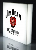 Jim Beam Whisky, LED 3D Leuchtreklame, Leuchtwerbung Cube