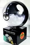 Bacardi Rum, Corto LED Eiswürfelbehälter, Flaschenkühler, Leuchtreklame, Leuchtwerbung mit Abfluß für 6 kg Eiswürfel OVP