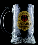 Bacardi Oakheart Rum Glas / Humpen / Gläser, Krug, 2012