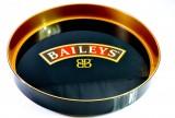 Baileys Irish Cream Kellnertablett, Serviertablett, Rundtablett gummiert haftend