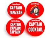 4 x Set Captain Morgan Rum , Handyhalterung  Sockets, herausziehbar, Griffhalter, Fingerhalter