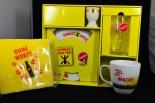 Sinalco Frühstücks-Set, Becher, Glas,Teller etc.NEUWARE