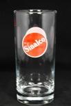 Sinalco Glas / Gläser, Limonadenglas, 0,4l, Neuware
