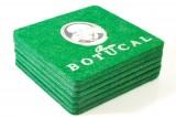 Botucal Rum Untersetzer grün 6er Set Filz eckige Ausführung