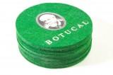 Botucal Rum Untersetzer grün 6er Set Filz runde Ausführung